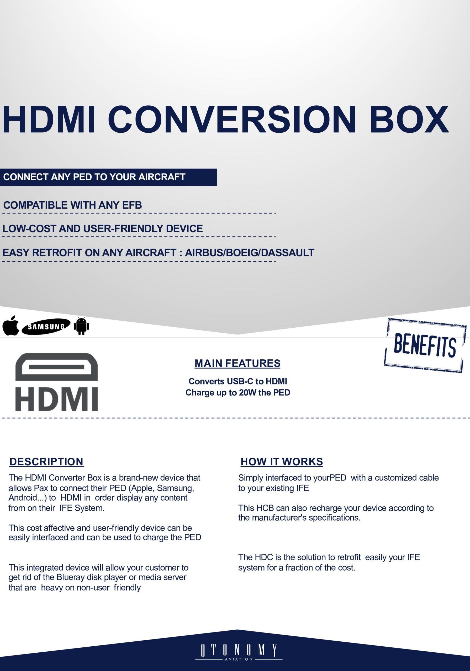 HDMI CONVERSION BOX